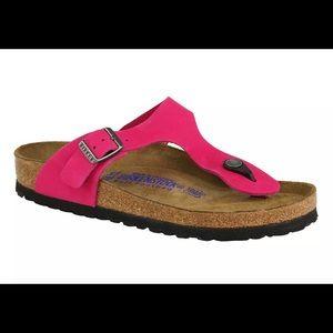 Brand new pink Birkenstock's size 38 N